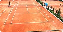 زمین تنیس استاندارد